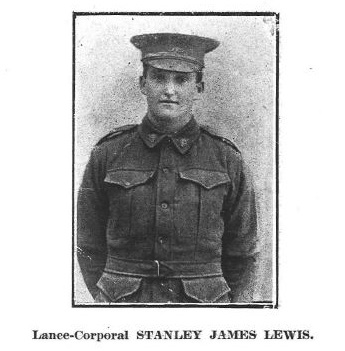 Stanley James Lewis MM